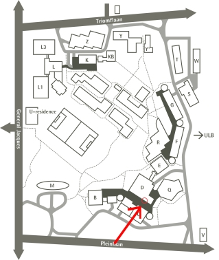 plan VUB_U_residence